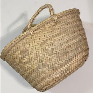 Woven Finds Mini Straw Tote